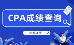 金凯元会计2020年注册会计师CPA成绩查询 成绩复核流